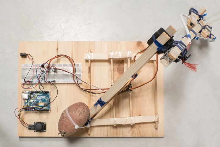 How to Build a Robot Arm from Recycled Materials