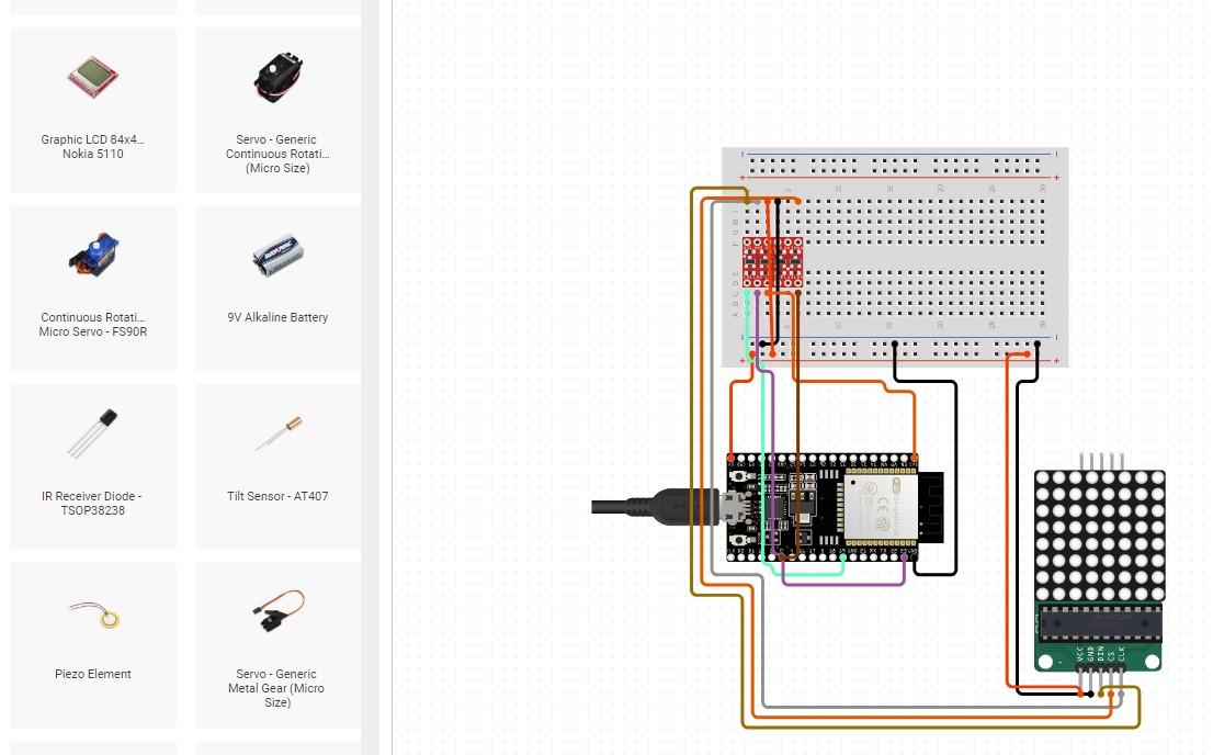 WROOM ESP32 Wifi Based Microcontroller Development Board