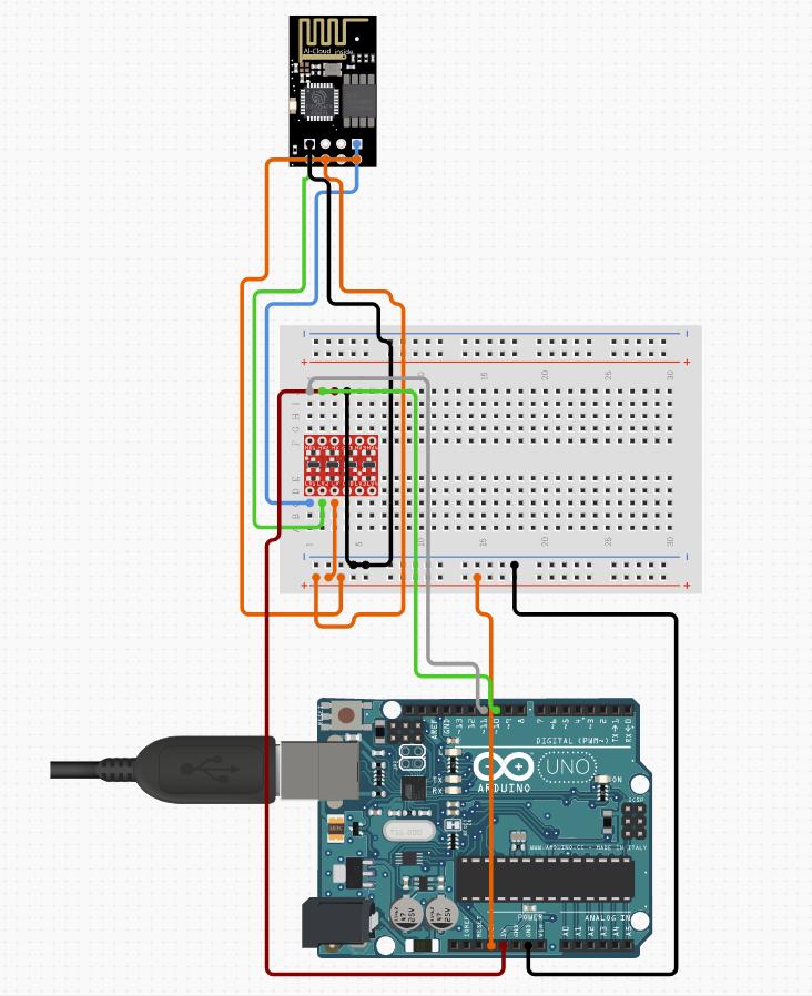 ESP8266-01 WiFi Module - component image 2